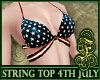 String Top 4th of July