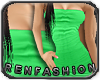 $R Mint Tube Dress