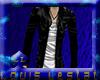 (A)Jackets cuero black