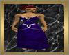 Dark Blue Tribal Dress