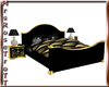 (RT)BLACK&GOLD BED