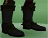 Black Drow Armor Boots
