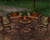 Firepit Chat Benches