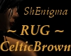*SE RUG - Brown/Celtic