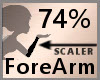 74% ForeArm Scaler F A