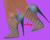 Wiz-blue heels