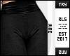 ♔ Black Leggings RLS