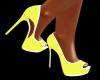 Heels 50s Yellow White
