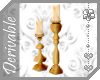 ~AK~ Gold Candlesticks