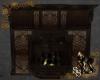 Steampunk Deco Fireplace