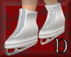 ice skates ~ silver