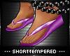 ST: Flip Flops : Purple