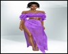 BeachWear Long Purple