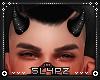 !!S Devil Horns Black