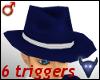Animated blue hat (m)
