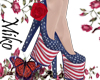 usa 4th july shoes