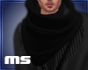 MS Men Scarf Black