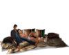 Blanket/Pillows W/Poses