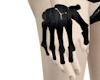 Black Bone Hand Brace RH