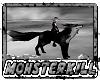Ridable Black Wolf