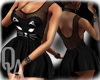 ^QA^ Black Cat Dress