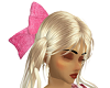 !BD Pink Satin Bow