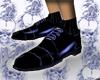 blue suite shoes