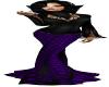 Spider Queen Purple Gown