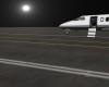 Night Airfield Airport