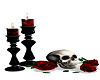 rose candles