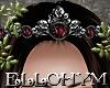 ~E- Gothic Ruby Crown M