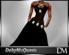 [DM] LONG DRESS BLACK