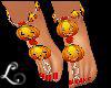 xo*October Pumpkin Feet