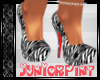 *T* Striking Zebra Heels