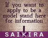 fSKf Model App Sign