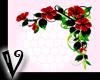 -V- Red corner flowers R