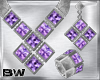Lavender Silver Set