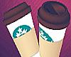 Coffee Cup BIG /w 7 Pose