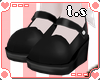 *ts* Dolly Shoes [Black]