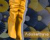 Gracelyne | Yellow boots