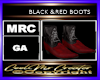 BLACK &RED BOOTS