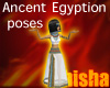 anciant egyptian poses