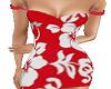 Hawaiian Flowers Dress