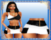 PC] RL Skirt blk & White