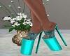Heels/Turquoise