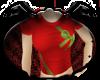 [C] Red Present Top