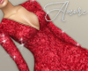 $ Sequin Red Dress