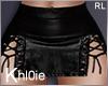 K rita leather skirt