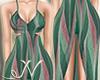 N. Green Dress