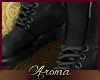 AOP=Black e boots